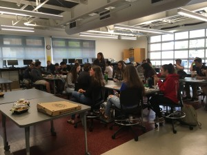 Healdsburg Interact Students